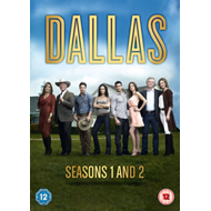 Produktbilde for Dallas: Seasons 1-2 (UK-import) (DVD)
