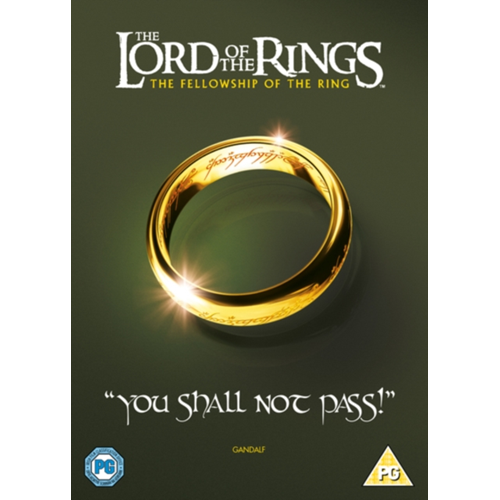 Lord Of The Rings: The Fellowship Of The Ring (UK-import) (DVD)