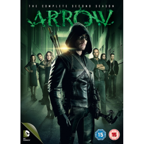 Arrow - Sesong 2 (UK-import) (DVD)