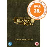 Produktbilde for The Lord Of The Rings: The Fellowship Of The Ring - Extended Cut (UK-import) (DVD)