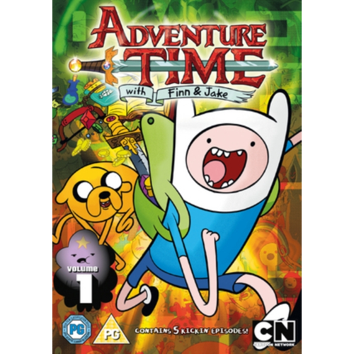 Adventure Time: Season 1 - Volume 1 (UK-import) (DVD)