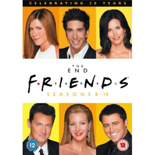 Friends: The End - Seasons 8-10 (UK-import) (DVD)