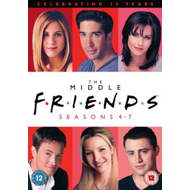 Friends: The Middle - Seasons 4-7 (UK-import) (DVD)