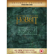 Produktbilde for The Hobbit: The Desolation Of Smaug - Extended Edition (UK-import) (DVD)