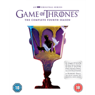 Produktbilde for Game Of Thrones: The Complete Fourth Season (UK-import) (DVD)