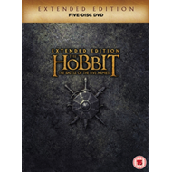 Produktbilde for The Hobbit: The Battle Of The Five Armies - Extended Edition (UK-import) (DVD)