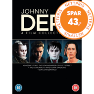 Produktbilde for Johnny Depp Collection (UK-import) (DVD)