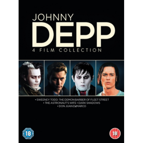 Johnny Depp Collection (UK-import) (DVD)