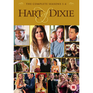 Hart Of Dixie: The Complete Seasons 1-4 (UK-import) (DVD)