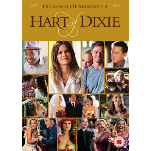 Hart Of Dixie - Sesong 1-4 (UK-import) (DVD)