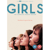 Girls: The Complete Fourth Season (UK-import) (DVD)