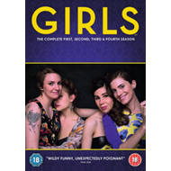 Girls: The Complete First, Second, Third & Fourth Season (UK-import) (DVD)