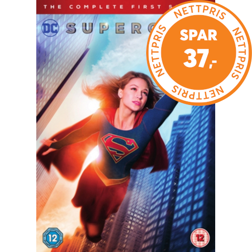 Supergirl: The Complete First Season (UK-import) (DVD)