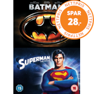 Produktbilde for Batman/Superman: The Movie (UK-import) (DVD)