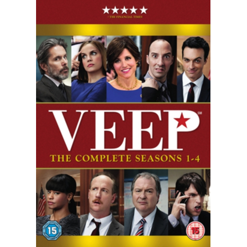 Veep: The Complete Seasons 1-4 (UK-import) (DVD)