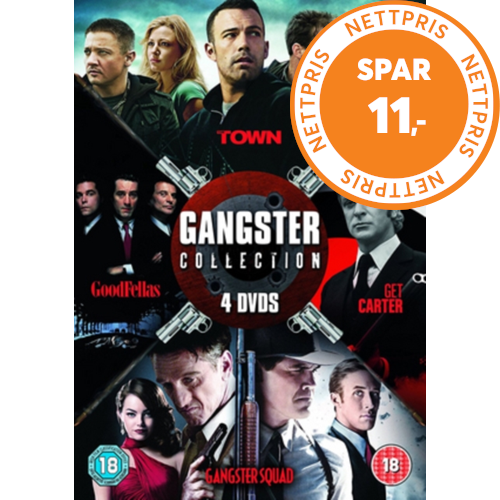 Gangster Collection (UK-import) (DVD)