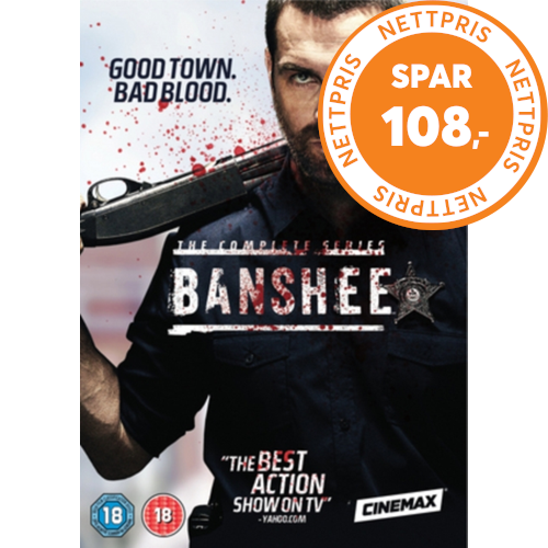 Banshee: Seasons 1-4 (UK-import) (DVD)