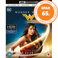 Produktbilde for Wonder Woman (UK-import) (4K Ultra HD + Blu-ray)