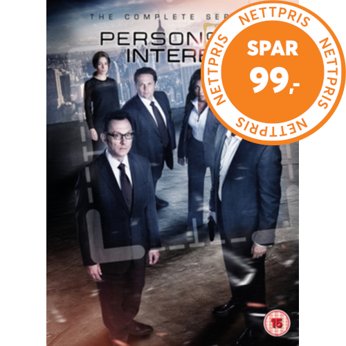 Person Of Interest: The Complete Series (UK-import) (DVD)