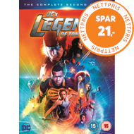 DC's Legends Of Tomorrow: The Complete Second Season (UK-import) (DVD)