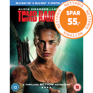 Produktbilde for Tomb Raider (UK-import) (Blu-ray 3D + Blu-ray)