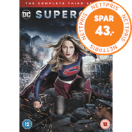 Produktbilde for Supergirl: The Complete Third Season (UK-import) (DVD)
