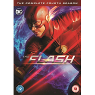 Produktbilde for The Flash: The Complete Fourth Season (UK-import) (DVD)