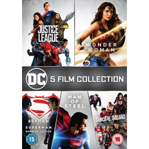 DC 5-Film Collection (UK-import) (DVD)