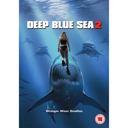 Deep Blue Sea 2 (UK-import) (DVD)