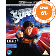 Produktbilde for Superman: The Movie (UK-import) (4K Ultra HD + Blu-ray)
