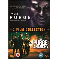 Produktbilde for The Purge/The Purge: Anarchy (UK-import) (DVD)