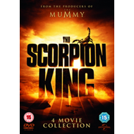 Scorpion King: 4-Movie Collection (UK-import) (DVD)