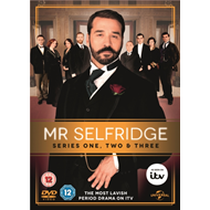 Mr. Selfridge: Series 1-3 (UK-import) (DVD)