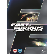 Fast & Furious: 7-Movie Collection (UK-import) (DVD)