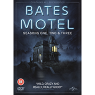 Produktbilde for Bates Motel: Seasons One, Two & Three (UK-import) (DVD)