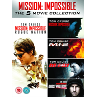 Produktbilde for Mission: Impossible 1-5 (UK-import) (DVD)