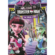 Monster High: Welcome To Monster High (UK-import) (DVD)