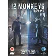 Produktbilde for 12 Monkeys: Season 2 (UK-import) (DVD)