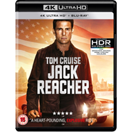 Produktbilde for Jack Reacher (UK-import) (4K Ultra HD + Blu-ray)