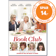Produktbilde for Book Club (UK-import) (DVD)