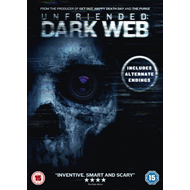 Produktbilde for Unfriended - Dark Web (UK-import) (DVD)