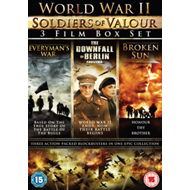 World War II - Soldiers Of Valour Box Set (UK-import) (DVD)