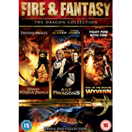 Produktbilde for Fire And Fantasy - The Dragon Collection (UK-import) (DVD)