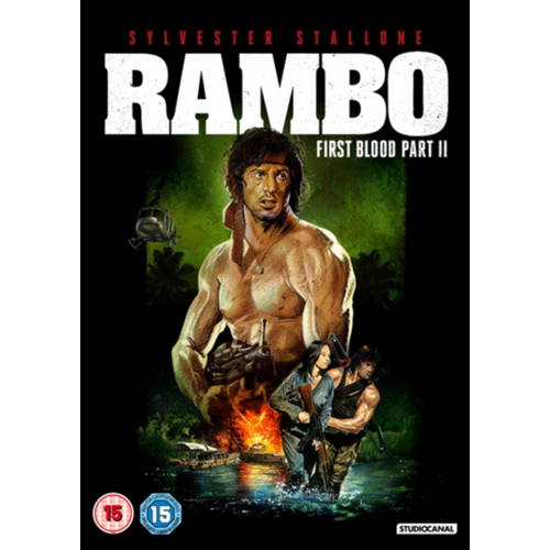 Rambo - First Blood: Part II (UK-import) (DVD)