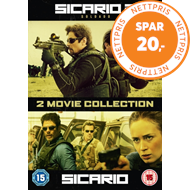 Sicario/Sicario 2 - Soldado (UK-import) (DVD)