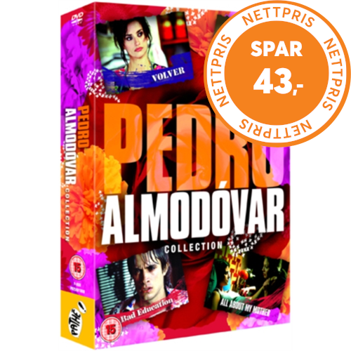 Pedro Almodóvar Collection (UK-import) (DVD)
