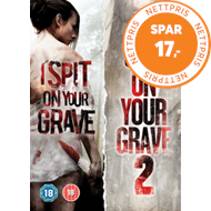 Produktbilde for I Spit On Your Grave/I Spit On Your Grave 2 (UK-import) (DVD)