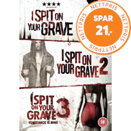 Produktbilde for I Spit On Your Grave/I Spit On Your Grave 2/I Spit On Your Grave3 (UK-import) (DVD)