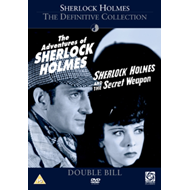 Produktbilde for Sherlock Holmes: The Adventures Of/ And The Secret Weapon (UK-import) (DVD)