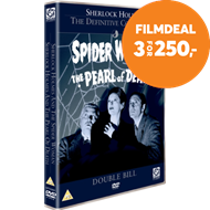 Produktbilde for Sherlock Holmes: The Spider Woman/The Pearl Of Death (UK-import) (DVD)
